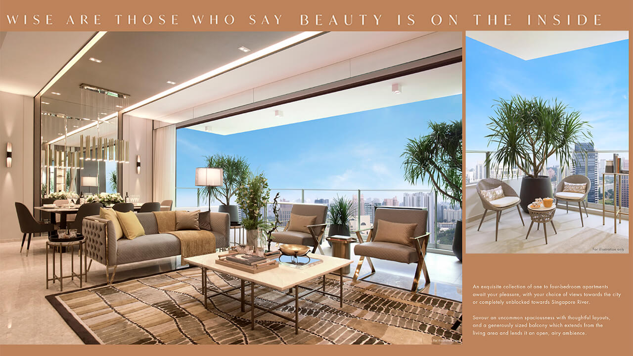 Spaciousness and Panoramic Views at The Avenir